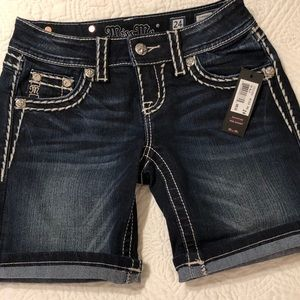 Miss me Jean shorts new w/tag